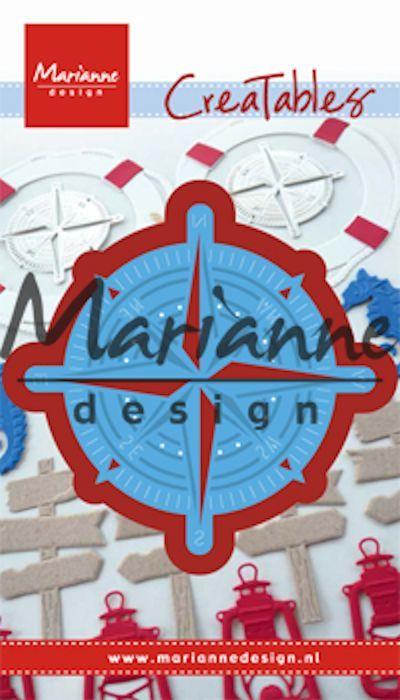 Marianne Design - Die - CreaTables - Compass - LR0534