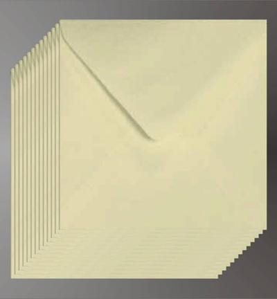 Vierkante Enveloppen Creme