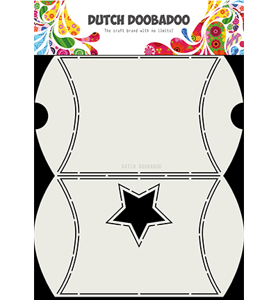 Dutch Box Art Envelope with star