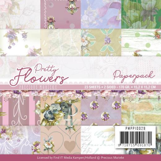 Paperpack - Precious Marieke - Pretty Flowers