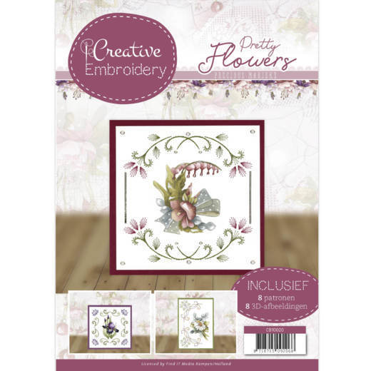 Creative Embroidery 20 - Precious Marieke - Pretty Flowers