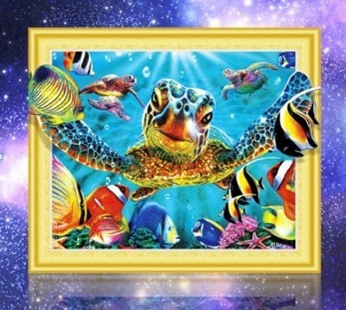 diamond painting special schildpad