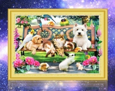 diamond painting special honden