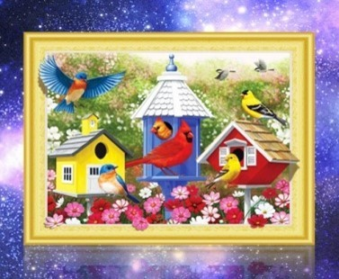 diamond painting special vogels