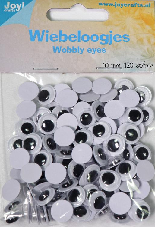 Wiebeloogjes rond 10mm