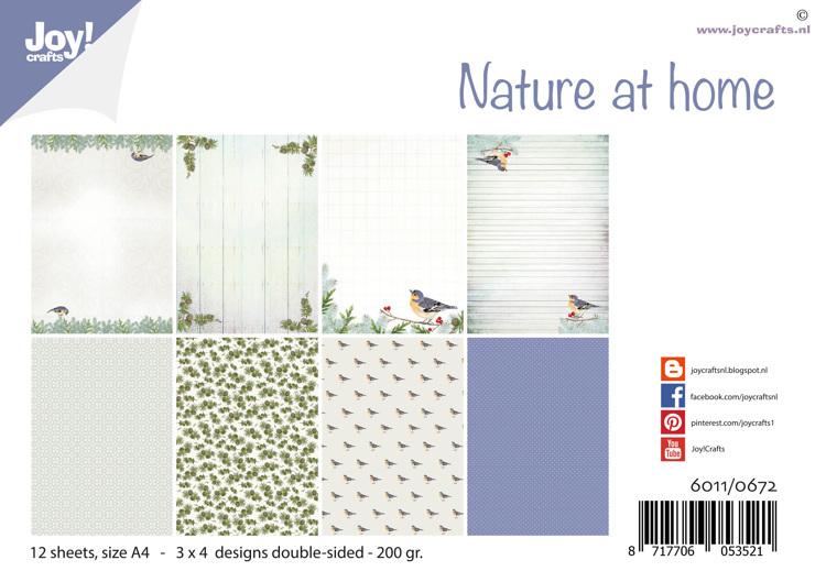 Papierset - Design Nature at home