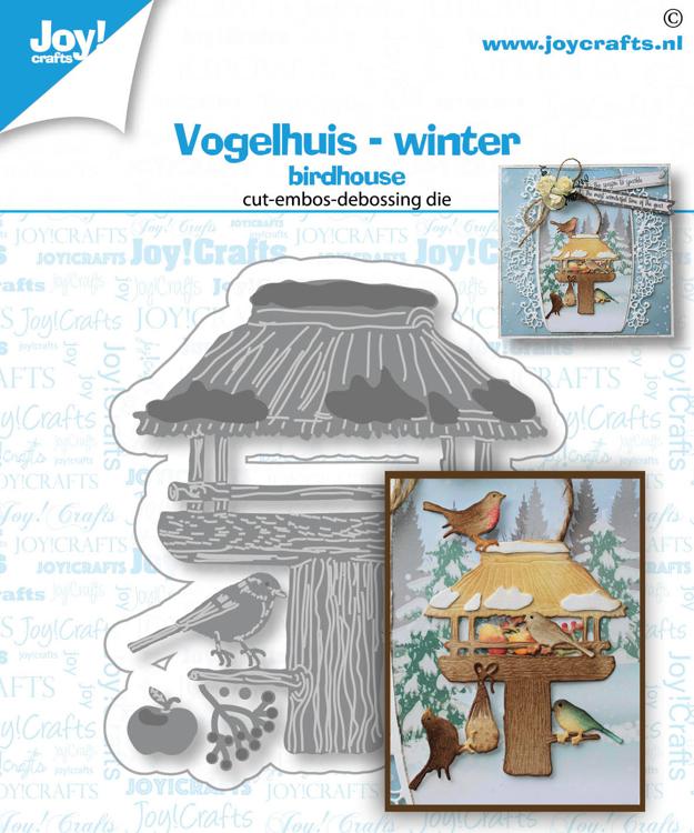Stans-debos-embosmal - Vogelhuis winter
