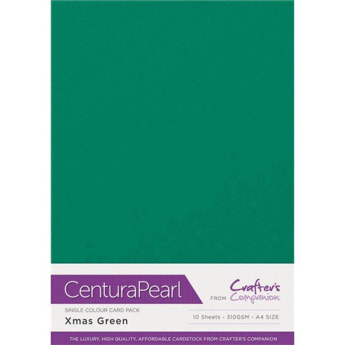Crafter's Companion Centura Pearl - Xmas Green (Kerst groen)