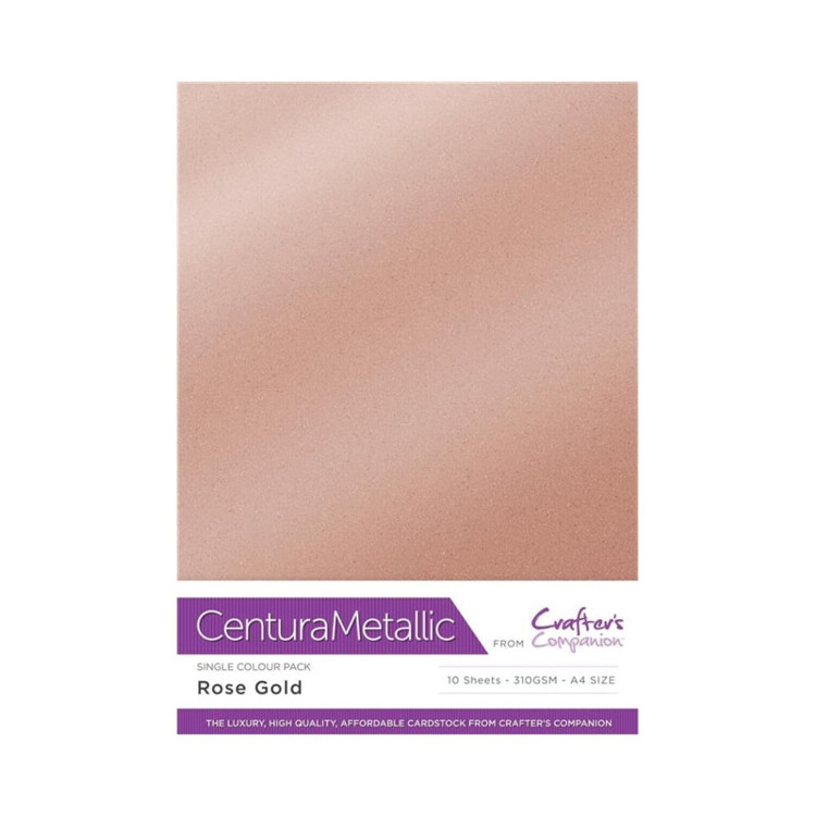 Crafter's Companion Centura Metallic Rose gold