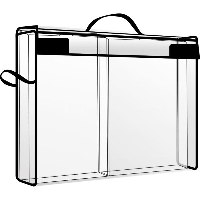 Storage and Supply Case  2 Lades (31,8x22,9x6,4 cm)