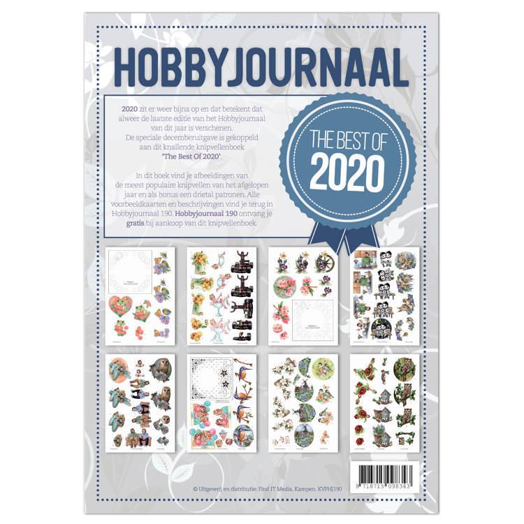 Hobbyjournaal 190 -knipvellenboek The Best of 2020