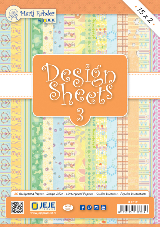 MRJ Design Sheets 3 / 15x2 Background papers