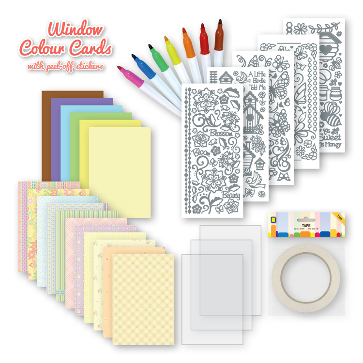 Window colour cards Kit Everyday