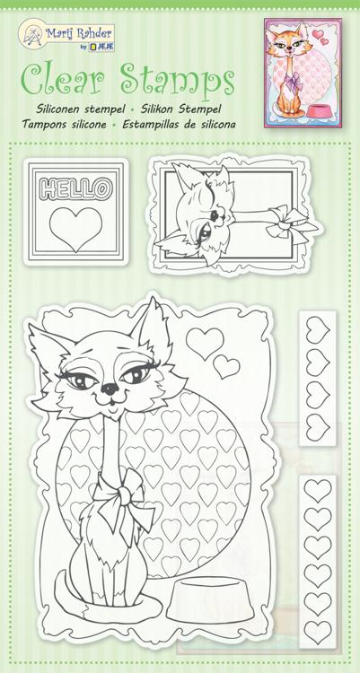 MRJ Clear stamps Cat
