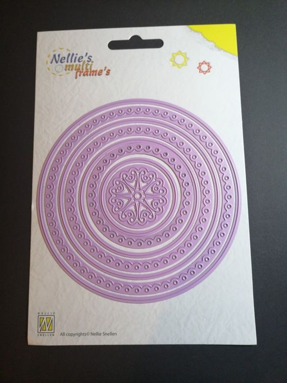 Nellie Snellen - Multi Frame`s - Round scalloped
