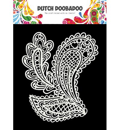 Dutch Mask Art Drop shapes