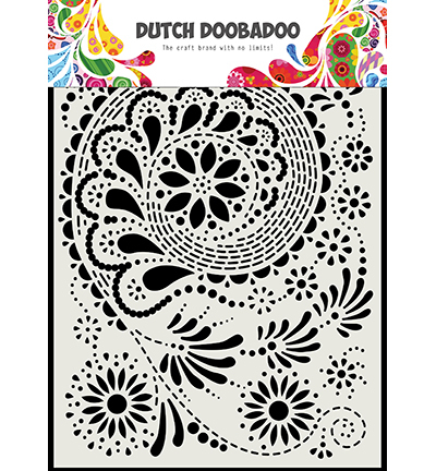 Dutch Mask Art Paisley