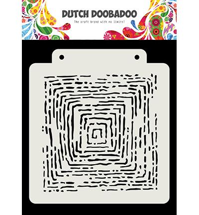 Dutch Mask Art Grunge lines