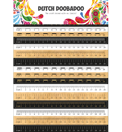 Dutch Sticker Art Rulers