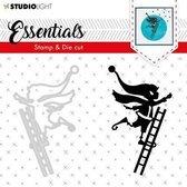 Studio Light Stamp & Die Cut A6 Essentials Silhouettes nr 35 BASICSDC35