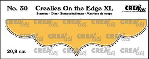 Crealies On the edge XL Die stans no 30 CLOTEXL30 20,8cm (12-20)