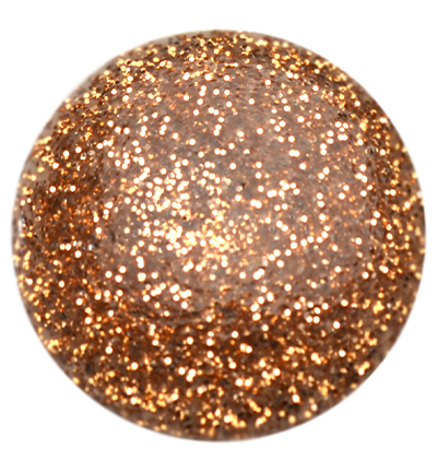 Blob Paint, Bronze Glitter