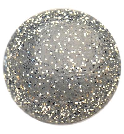 Blob Paint, Silber Glitter