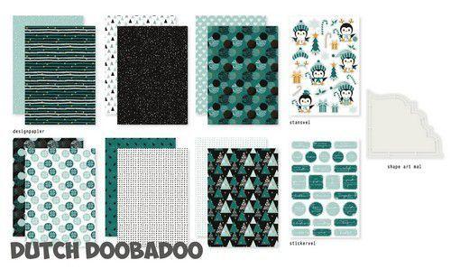 Dutch Doobadoo Crafty Kit Chrismas mood 473.005.001 A5 (11-20)