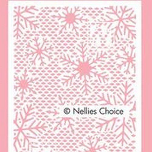 Nellie's Choice Mixed Media Stencils Kliene sneeuwvlokken MMSA6-015 A6 (12-20)