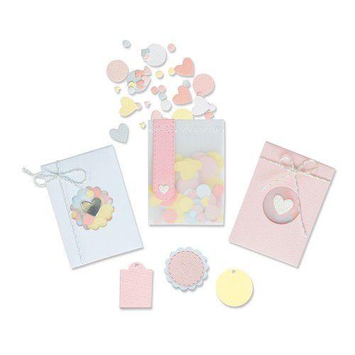 Sizzix Thinlits Die Set - 8PK Confetti Pocket 665069 Lisa Jones (01-21)