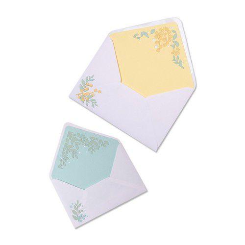 Sizzix Thinlits Die Set - 7PK Foliage Envelope Liners 665077 Sharon Drury (01-21)