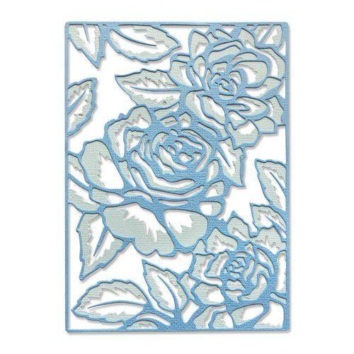 Sizzix Thinlits Die Set - 2PK Floral Lattice 665082 Jessica Scott (01-21)