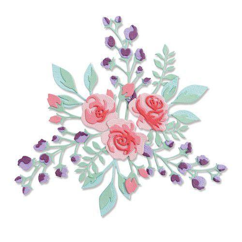 Sizzix Thinlits Die Set - 7PK Floral Layers #2 665083 Jen Long-Philipsen (01-21)