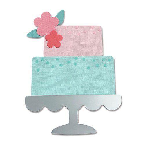 Sizzix Bigz Die - Celebration Cake 665095 Alexis Trimble (01-21)