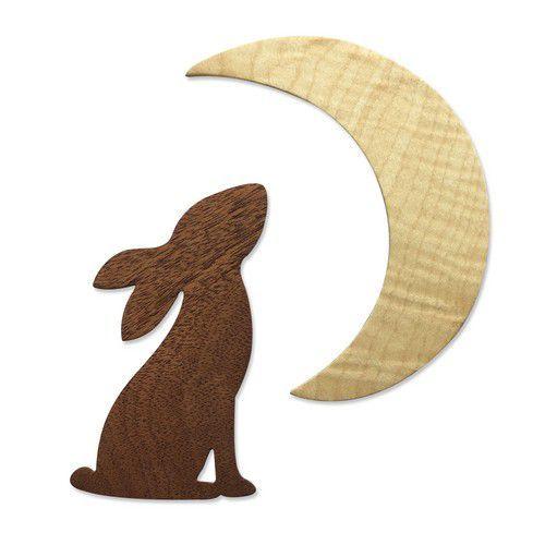 Sizzix Bigz Die - Rabbit & Moon 665099 Olivia Rose (01-21)
