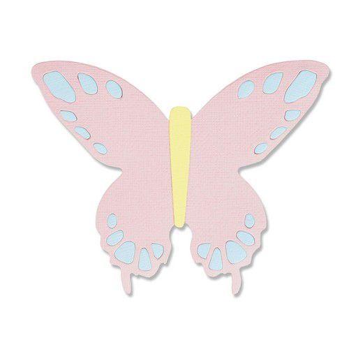Sizzix Bigz Die - Willow Butterfly 665100 Jessica Scott (01-21)