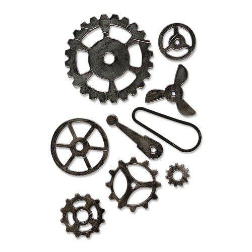 Sizzix Bigz L Die - Mechanical 665225 Tim Holtz (01-21)