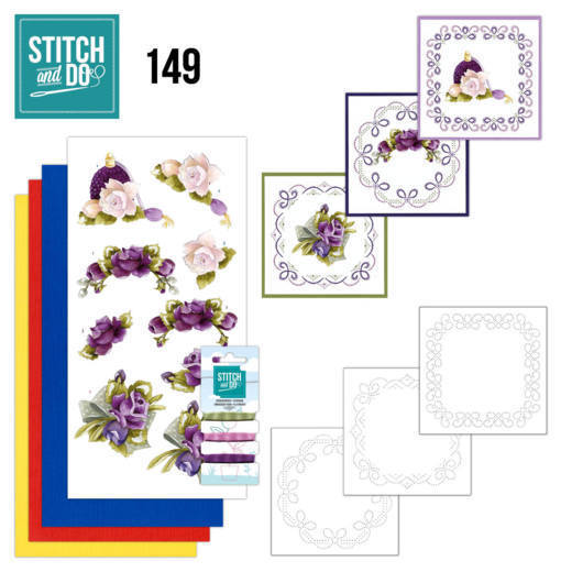 Stitch and Do 149 - Precious Marieke - Romantic Roses