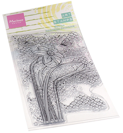 Art stamps - Daffodile