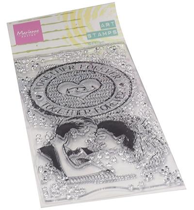 Art stamps Together forever