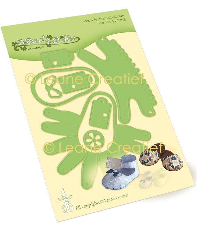 Leabilitie® Baby schoen en slipper snijmal