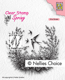 Clear Stamps Spring Spring is in the air
