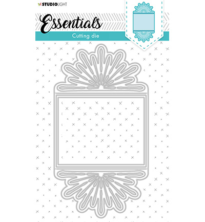SL Cutting & Emb. Die Cardshape Trilogy Flower Essentials nr.368