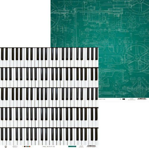 Piatek13 - Paper Free Spirit 06 P13-FRE-06 12x12(12-20)