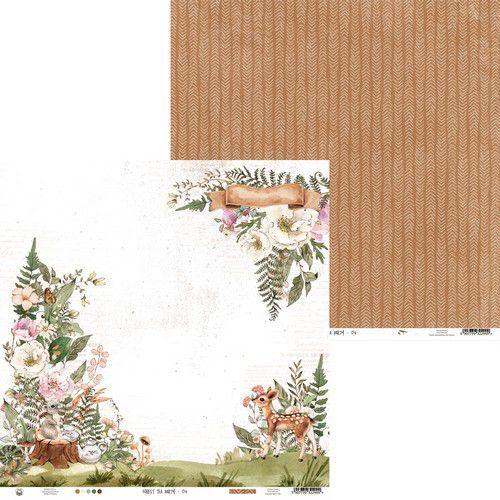Piatek13 - Paper Forest tea party 04 P13-FOR-04 12x12(12-20)