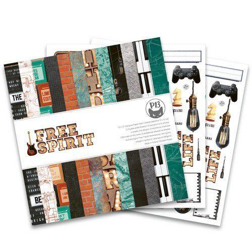 Piatek13 - Paper pad  Free Spirit, 12x12'' P13-FRE-08 (12-20)
