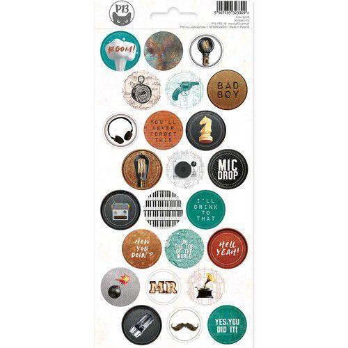 Piatek13 - Sticker sheet Free Spirit 03 P13-FRE-13 10,5x23cm (12-20)