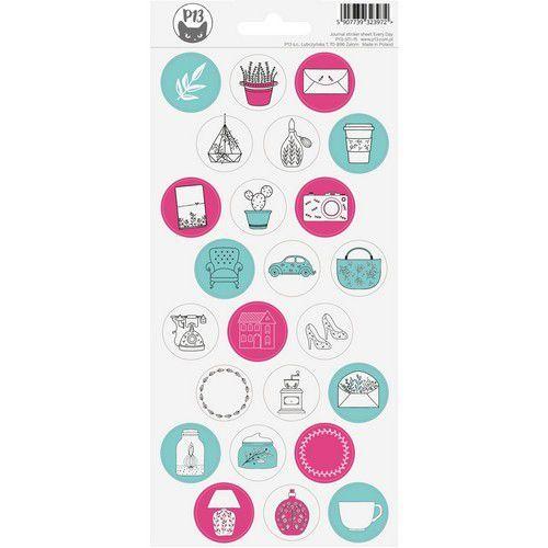Piatek13 - Sticker Sheet Journal 15 P13-STI-15 (12-20)