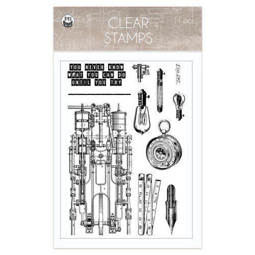 Piatek13 - Clear stamp set Free Spirit 01 P13-FRE-30 (12-20)