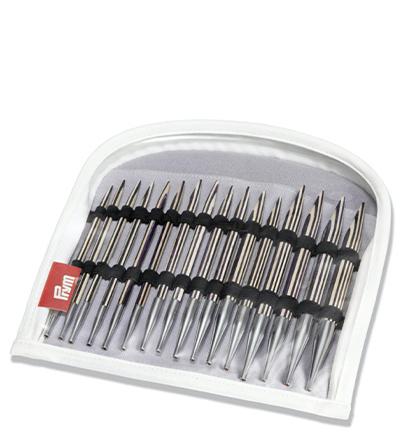 Rondbreinaalden set lil. Stripes 4-10mm